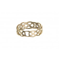 9ct Gold Gents Celtic Band Ring