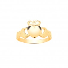 9ct Gold Maids Claddagh Ring