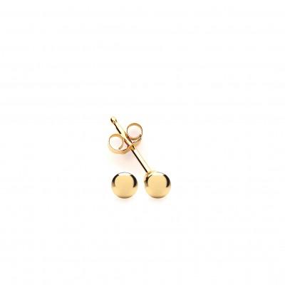 9ct Gold 3mm Ball Stud Earrings