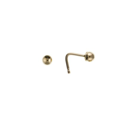 9ct Gold 2.5mm Bead Nose Stud