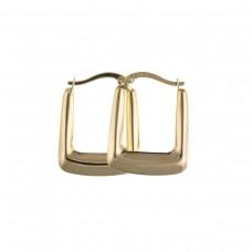 9ct Gold Handbag Creole Earrings