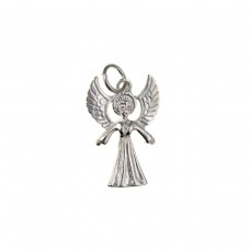 Silver Angel Charm Pendant