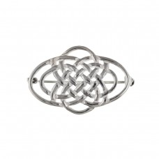 Silver Celtic Style Brooch