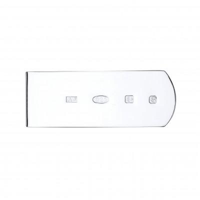 Silver Feature Hallmark Money Clip