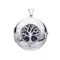 Silver Tree Of Life Locket