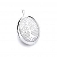 Silver Oval Tree Of Life Locket